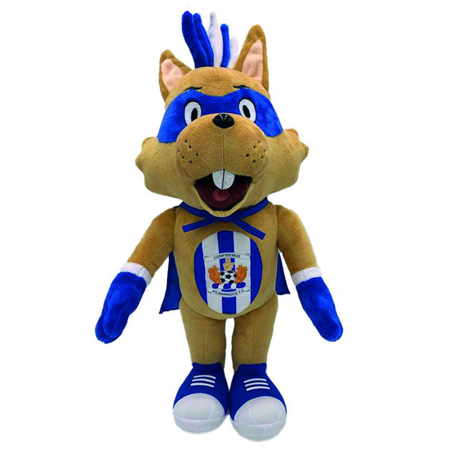 MASCOT TOY CAPTAIN CONKER - 10""