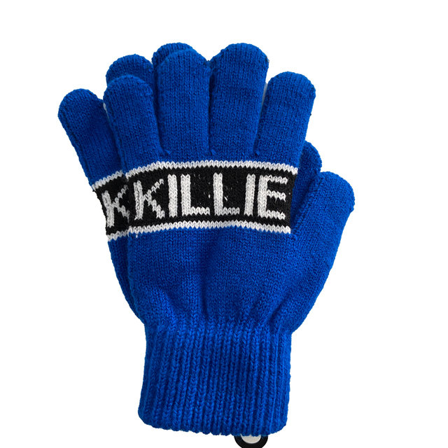 YOUTH JACQUARD GLOVES